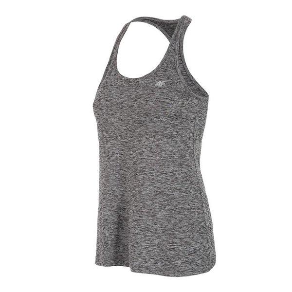 4F - Damen Fitness Tank Top - grau melange