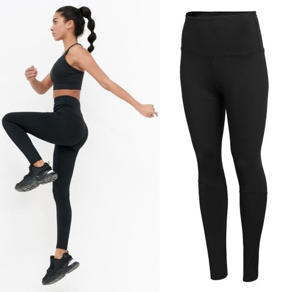 Outhorn - Damen High-Waist Leggings - schwarz