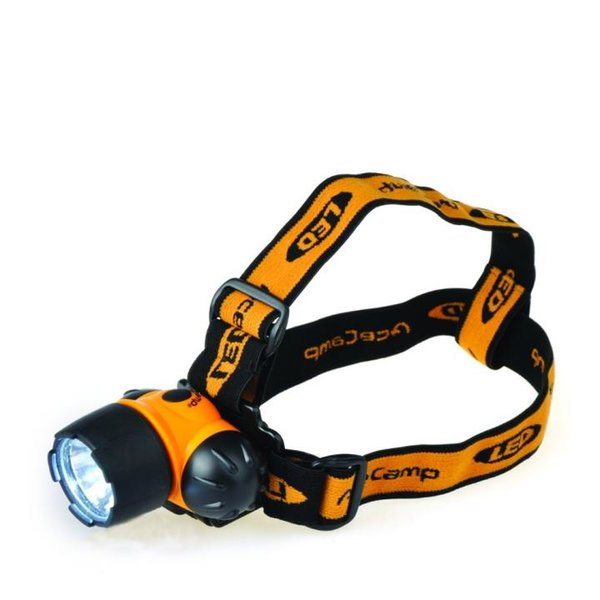 AceCamp Lampe 1-Watt LED Headlamp, Stirnlampe Kopflampe - schwarz