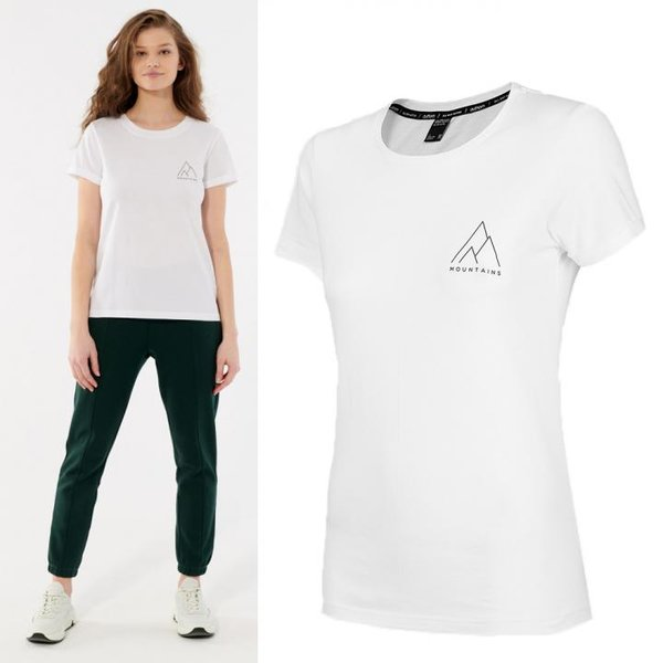 Outhorn - Mountains - Damen T-Shirt - weiß