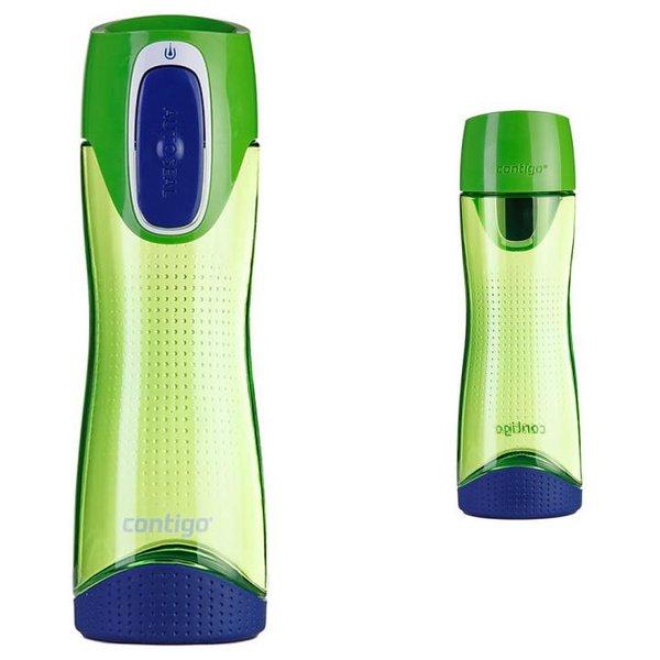 Contigo Trinkflasche Swish Sport Fitness Flasche - 500ml - grün