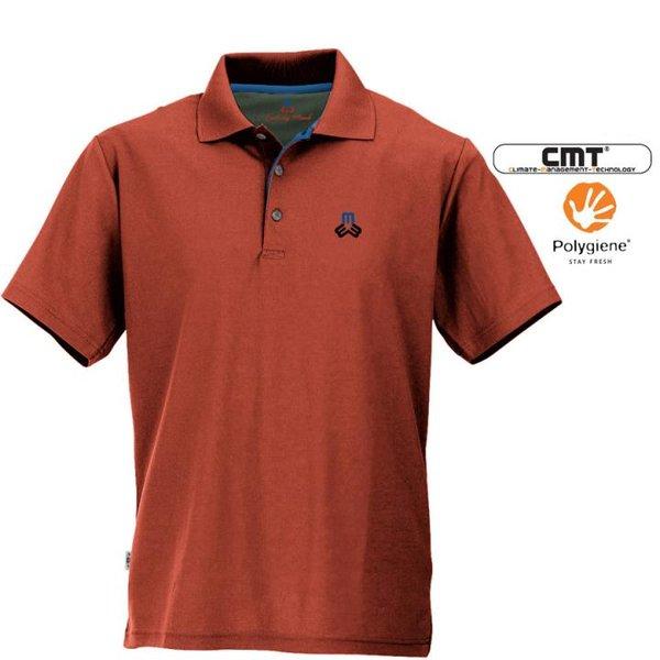 Maul - Spiez 2021 antibakterielles Herren Poloshirt - orange