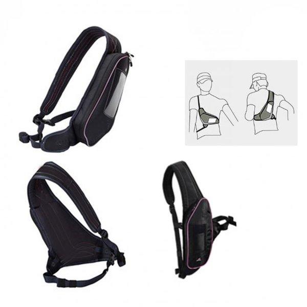 PRO TOUCH - RUNNING CROSS BAG - Laufgürtel Hüftgürtel - Sport-Bag für Accessoires und Trinken - schw