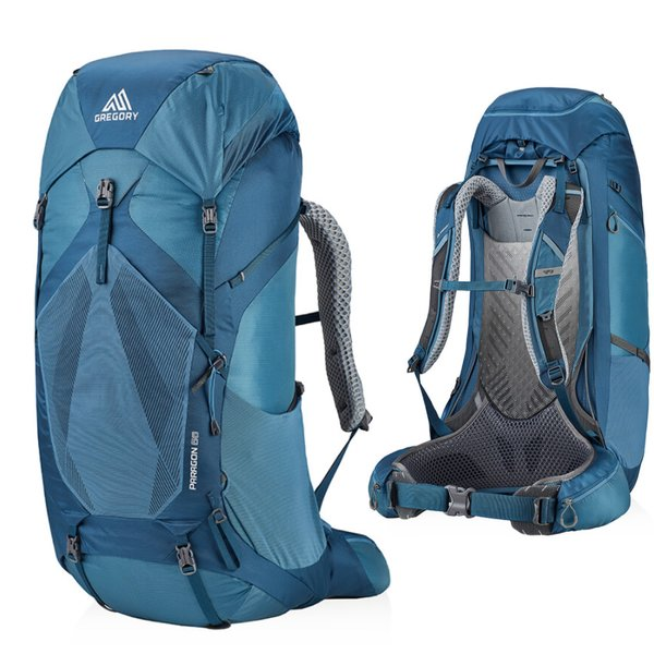 Gregory - PARAGON 48 MD/LG - leichter, technischer Touren/Trekking Rucksack - Graphite blue