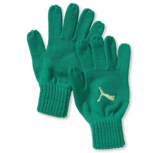 Puma - Fundamentals Knit Gloves - Strickhandschuhe - grün-M/L
