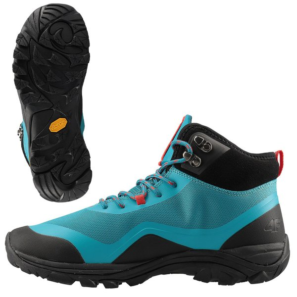 4F - URBAN HIKER - Damen Outdoorschuhe - türkis