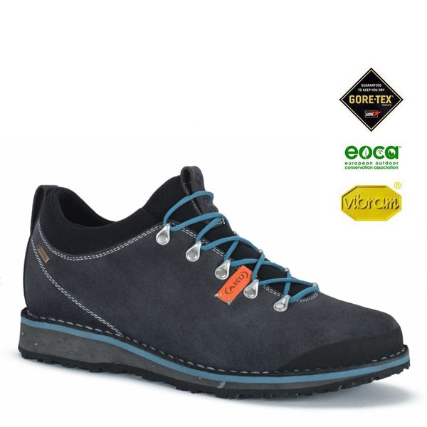 AKU - BADIA LOW GTX Outdoorschuhe Goretex Vibram, grey-blue