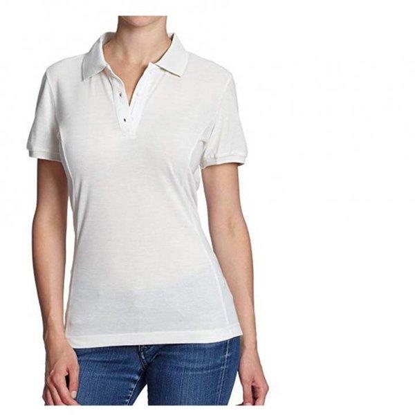 Salewa Damen T-Shirt Itza 2 Dry - Sport Polo-Shirt - creme - XL 42