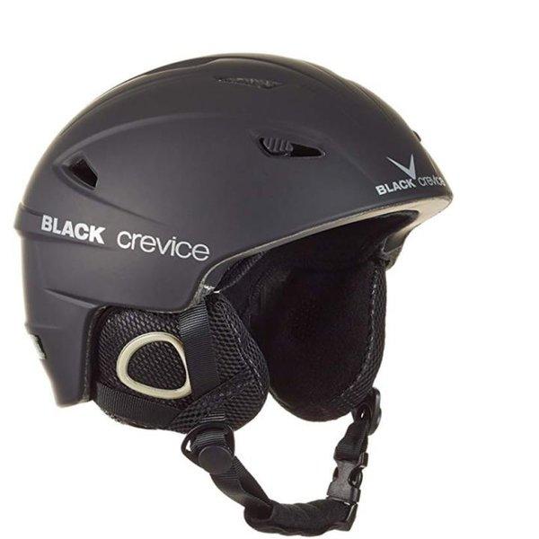 Black Crevice Erwachsene Skihelm Kitzbühel Ski Helm, schwarz 55-56 cm