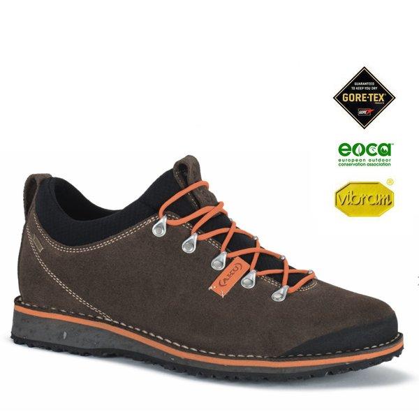 AKU - BADIA LOW GTX Outdoorschuhe Goretex Vibram, brown orange
