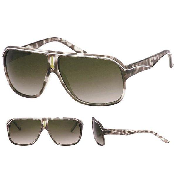 QWIN - Sonnenbrille - Gläser UV 400 - schwarz braun