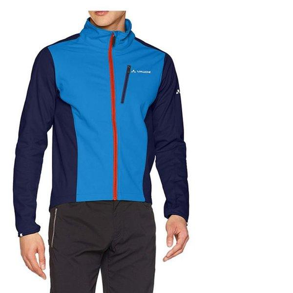 Vaude Herren Fahrrad Spectra Softshell Jacket II Jacke Hydro Blue, M/L
