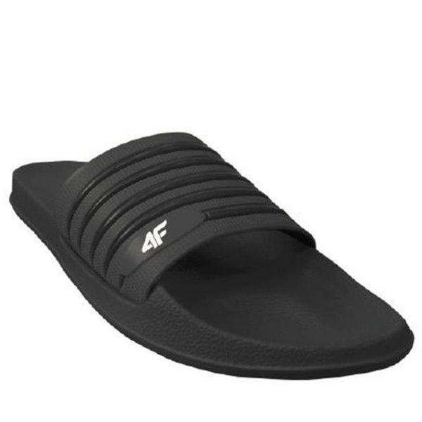 4F - Pool Slippers - Badeschuhe - schwarz