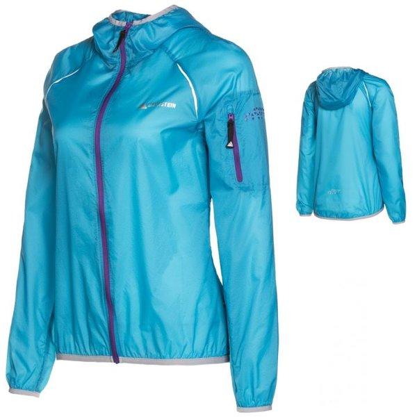 Dachstein - superleichte Damen Wind- Sport- Radjacke Outdoorjacke - blau