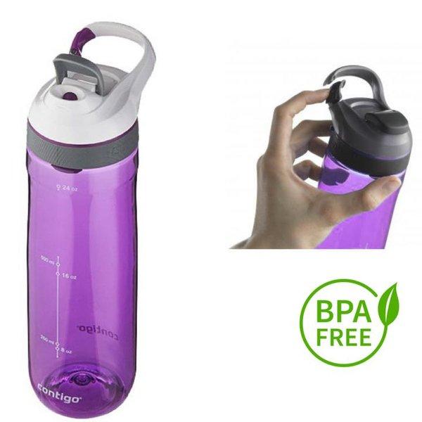 Contigo Trinkflasche Cortland Sport Fitness Flasche - 750ml - lila