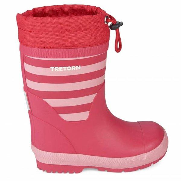 Tretorn - Gänna Winter - Kinder Gummistiefel - pink 28