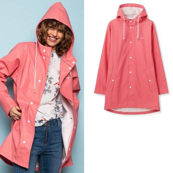Tretorn - Wings Rain Jacket - Damen Regenmantel - coral