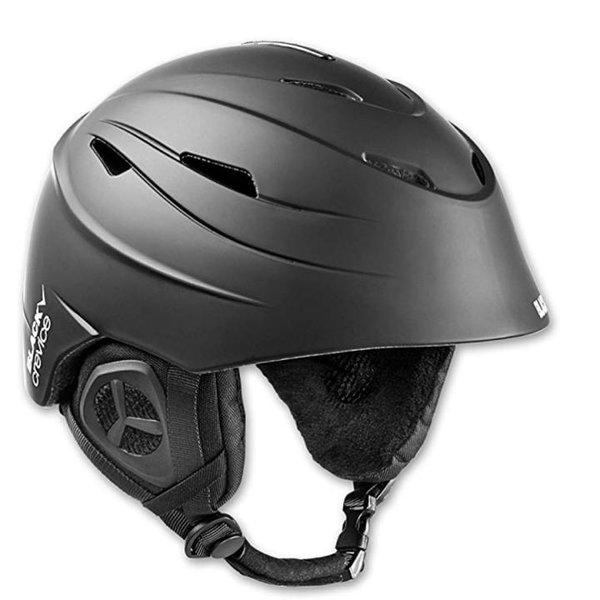 Black Crevice Erwachsene Skihelm St. Anton Ski Helm, schwarz M 57-58 cm