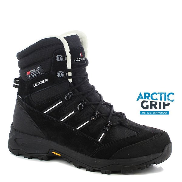Vibram ARCTIC GRIP - Winterschuhe Snowbound STX Thinsulate - schwarz