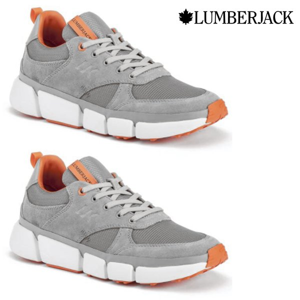 Lumberjack - ORIGINAL Leather Dynamic M50 Schuhe Sneaker, grau