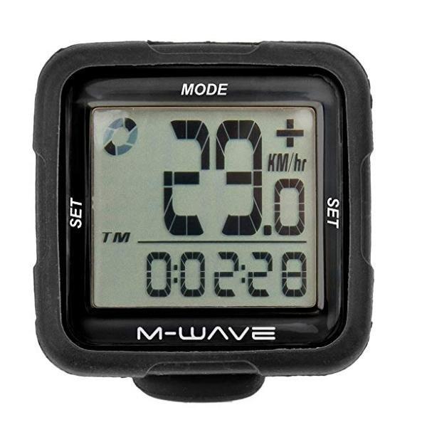M-Wave Fahrradcomputer MULTIFUNKTION - schwarz