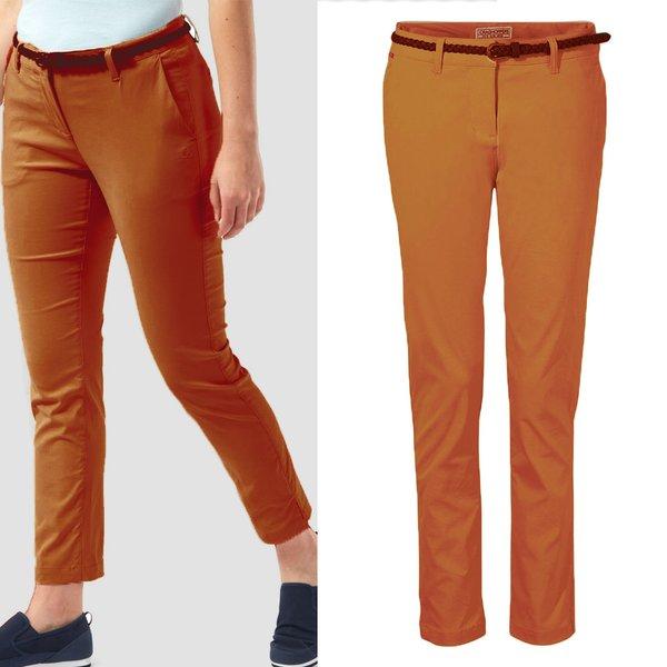 Craghoppers - NosiLife Briar - Damen Strech Hose - orange