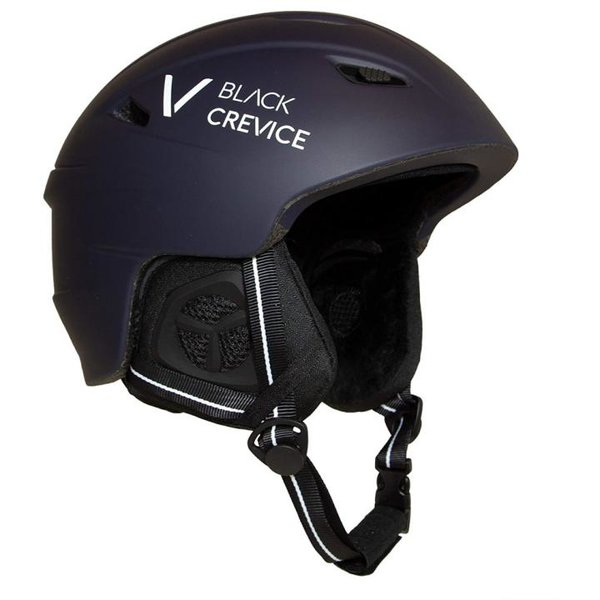 Black Crevice - Streif - Skihelm navy/weiß