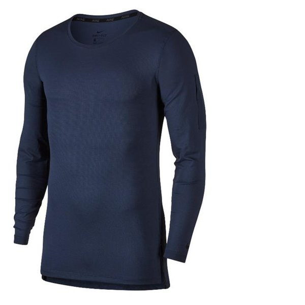 TERMO - ULTRA Light - Herren Langarmshirt Longshirt Funktionsfaser - schnelltrocknend - dunkelblau