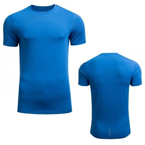 Outhorn - Herren Trainingsshirt - Sport T-Shirt - blau