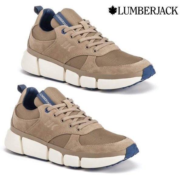 Lumberjack - ORIGINAL Leather Dynamic M50 Schuhe Sneaker, beige