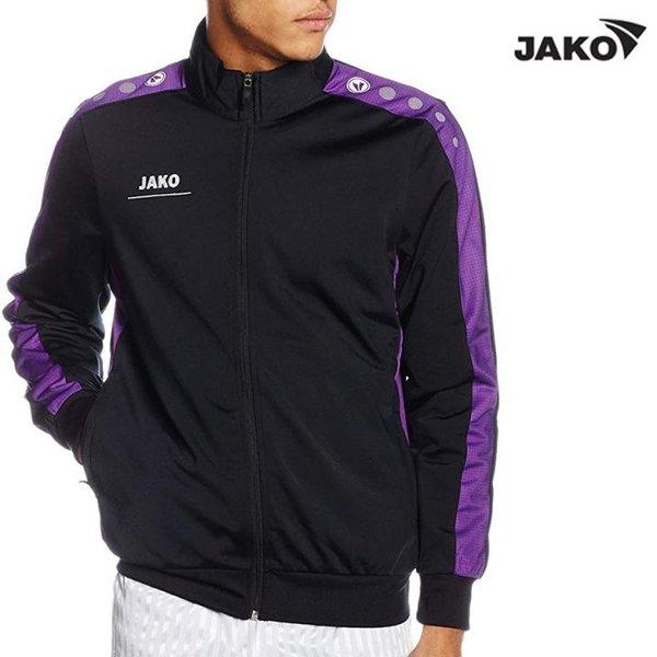 JAKO Herren Outdoorjacke Sportjacke- schwarz violet S
