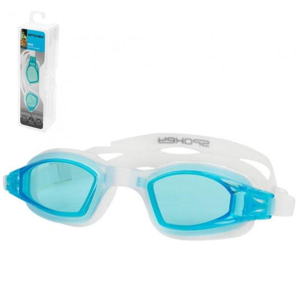 SPOKEY - Taucherbrille Schwimmbrille UV Schutz WAVE - Anti-Fog - blau
