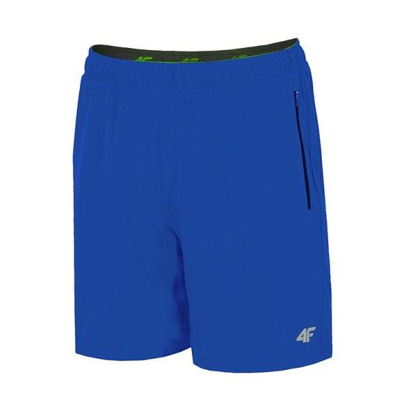 4F - TRAINING - Herrn Stretch Sportshort - blau