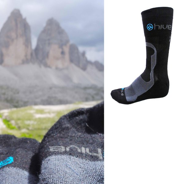 hive - Bambus - Wandersocken - Outdoorsocken (Made in EU)