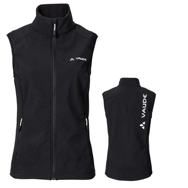 VAUDE Damen Softshellweste Weste Brand Vest - schwarz - 44 XL/XXL