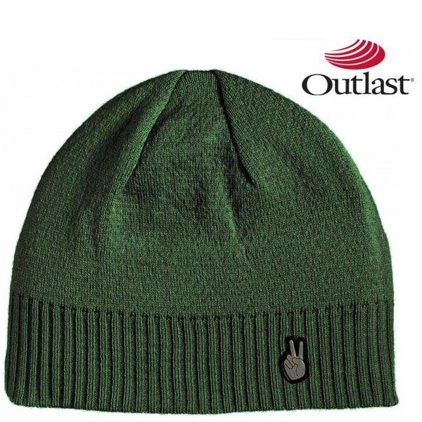 Outlast - Vermont Wintermütze Wolle Mütze - grün