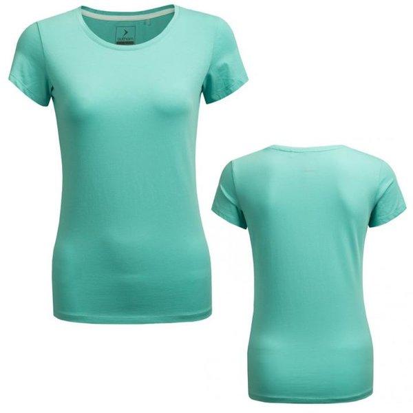 Outhorn - Dame Basic T-Shirt- türkis