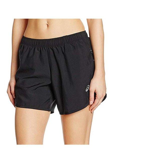 ASICS Damen 5.5 in Laufshorts - Sporthose kurz Damen - schwarz - XS 34