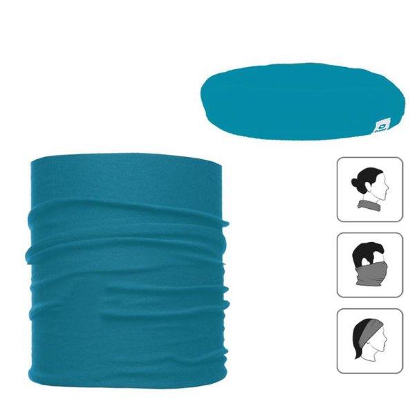 Everhill - Multifunktionsschal - Sport Rundschal 3in1 - blau