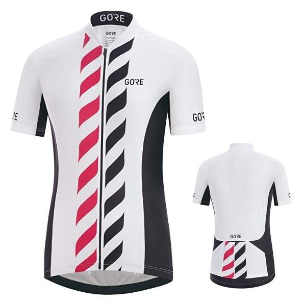 GORE WEAR Damen C3 Vertical Trikot Radshirt - weiß - 38 M