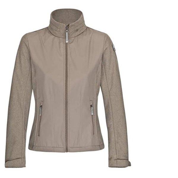 Icepeak - LEANA Softshell - Damen Urban Jacke - beige