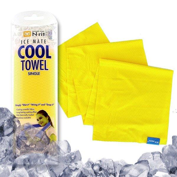 N-rit - ICE MATE COOL TOWEL - Das Original - kühlendes Mikrofaser - Sport Handtuch