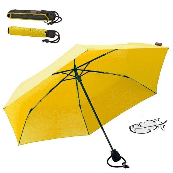 EuroSCHIRM - Göbel - ultraleichter Carbon Regenschirm Wanderschirm light trek ultra, gelb
