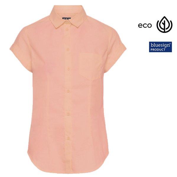 Helly Hansen - Damen Bluse HUK SS Shirt - melon
