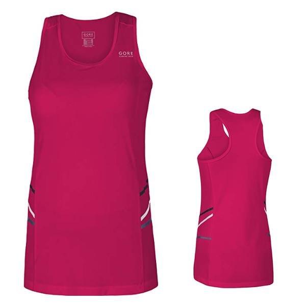 GORE WEAR Damen Shirt Ärmellos Mythos Radshirt Tank Top - pink - 42 XL