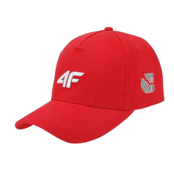 4F - Vierschanzentournee Kollektion - Schildmütze Cap - rot