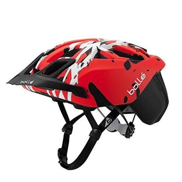 Bolle The One MTB Black & Red Camo Fahrradhelm, Grösse 58-62 cm