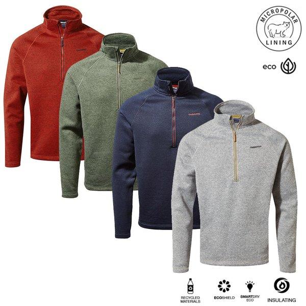 Craghoppers - Strick Fleece Pulli - Sweatshirt - Heelan - Herren