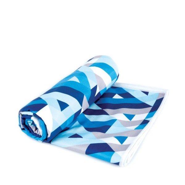 Spokey - Menorca - Microfaser Strandtuch - blau