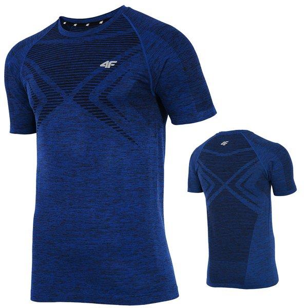 Thermodry T-Shirt - Herren 4F Fitnesshirt Funktionsshirt 2018 - navy blau